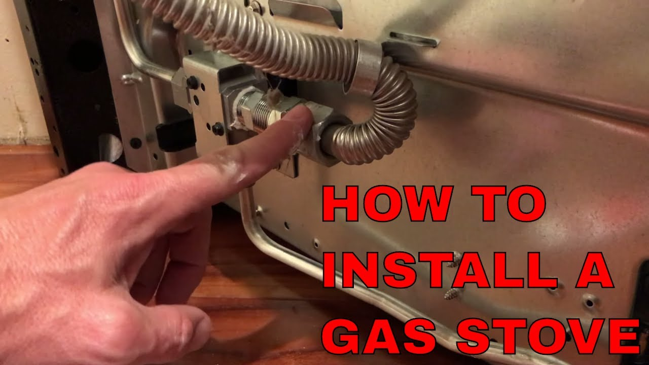 How To Hook Up A Gas Oven And Not Your House You
