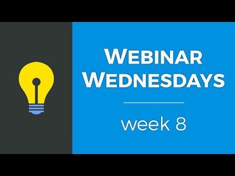 Webinar Wednesdays - Week 8 - Brilliant Directories Webinars (3.8.2017)