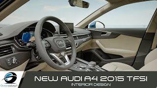 Audi A4 NEW 2015 Sedan | INTERIOR DESIGN