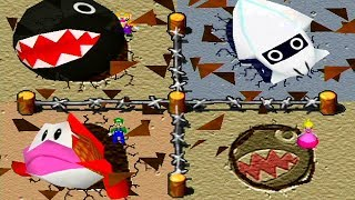 Mario Party 2 - All Enemy Minigames thumbnail