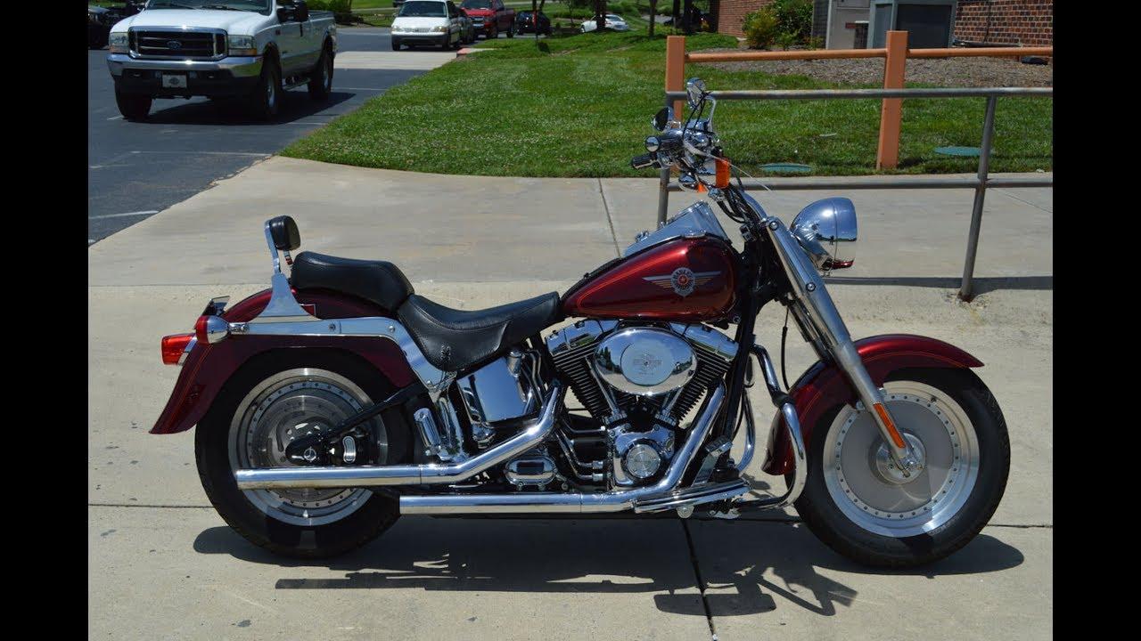 2000 Harley Davidson Flstf Fat Boy 6441 Youtube Fatboy Pictures