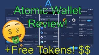 🚀 Atomic Wallet Review With Suggestions + FREE Tokens! ⚛