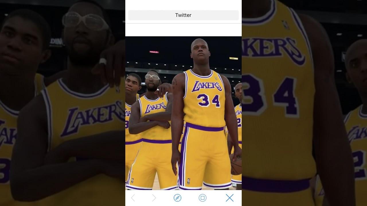 NBA 2K18 LEBRON JAMES RATING AND SCREENSHOT fca7ee73b