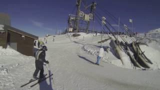 Ski noire Val Thorens