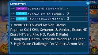 03/10 KHUx JP: Draw Result, KH Orchestra Event, HSC, and More!