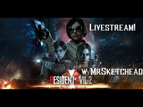 RESIDENT EVIL 2 REMAKE - The Ghost Survivors DLC BLIND ???? LIVE [Session 4]!