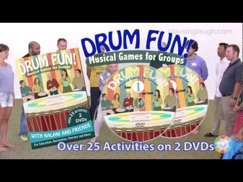 Drum Fun!  Musical Games For Groups (parts 1 and 2)