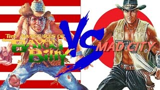 Bayou Billy (NES) Vs. Mad City (Famicom) | USA Vs. Japan | Nefarious Wes