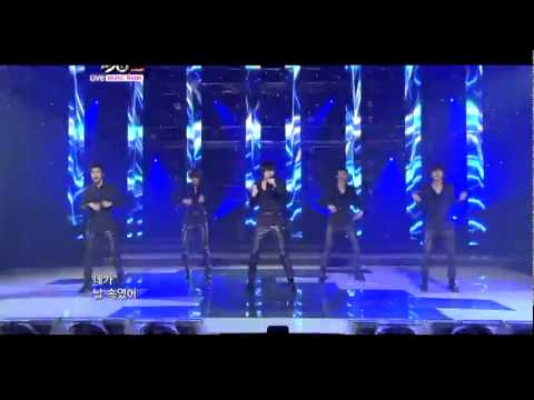 110429 X5 - The Show Is Over, LIVE @ Music Bank