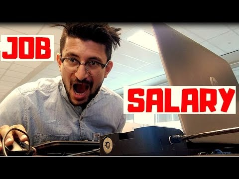 My Job & My Salary (Full Time Work In Canada)