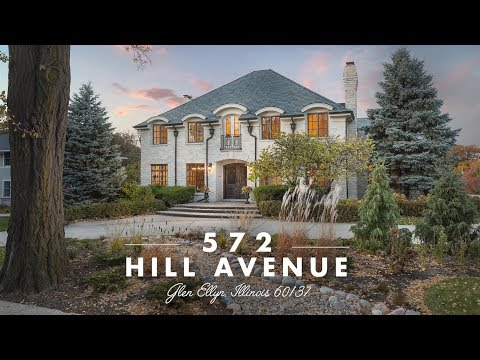 Welcome to 572 Hill Avenue, Glen Ellyn, IL 60137 | 4k | Presented by Penn French