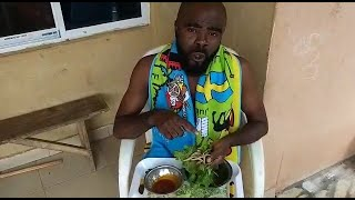 Traditional food at  home || Leaf And Power | When Last Did You Take This? Chief Imo Comedy