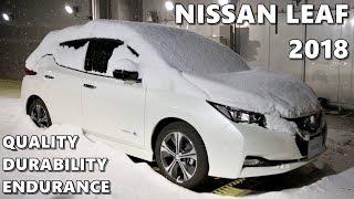 NEW Nissan LEAF (2018) Quality Test