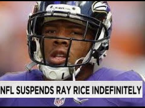 Ravens Ray Rice Suspended By NFL | Outrage | Ban RB Ray Rice