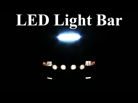 how to wire an led light bar properly (project night light episode 3) -  youtube