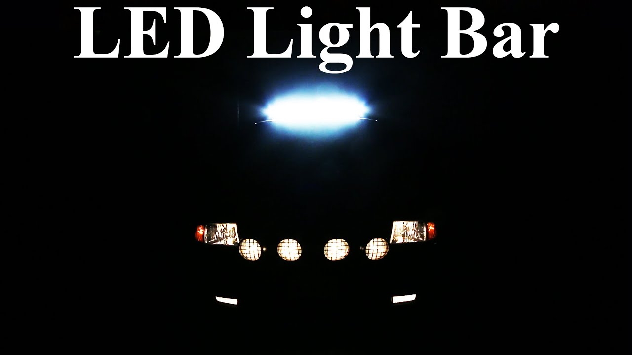 How To Wire An Led Light Bar Properly Project Night Episode 3 Lamp 1 Ballast Wiring Diagram Get Free Image About Youtube