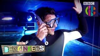 Mark Wright faces the shark tank!  The Dengineers  CBBC