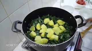 Mega Winter Warmer Vegetable Soup Vegan - Kale