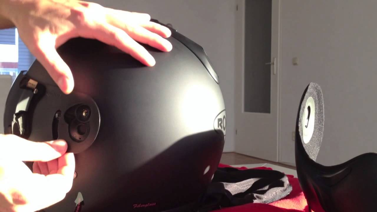 The Roof Boxer V8 Can Be As An Open Or Full Faced Helmet