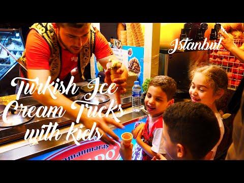 Turkish Ice Cream Vendor Prank Kids | Traditional Turkish Ice Cream Prank