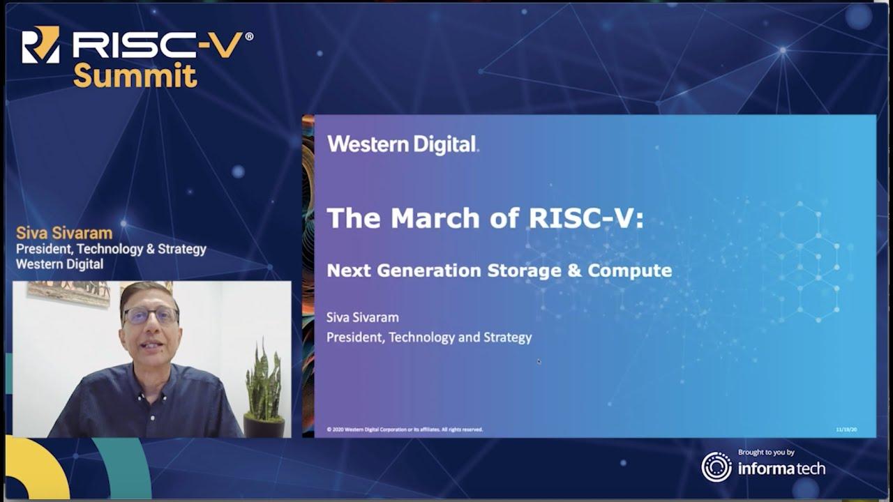 Download RISC-V for Next Generation Storage & Compute | Siva Sivaram