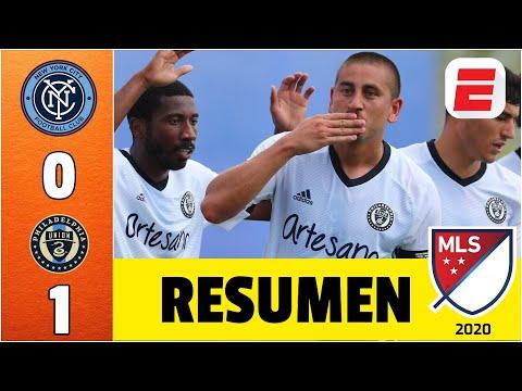 NYCFC vs Philadelphia Union | GOL de Bedoya le da los 3 puntos al Union en MLS is Back | RESUMEN MLS