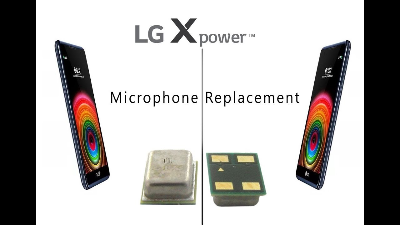 LG Xpower (K220) Microphone Replacement Tutorial / Mikrofon reparieren