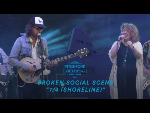 Broken Social Scene perform 74 Shoreline  Pitchfork Music Festival 2016