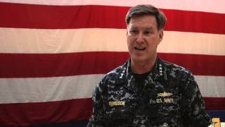 Adm. Mark Ferguson Visits U.S. Naval Support Activity (NSA) Souda Bay - 141023
