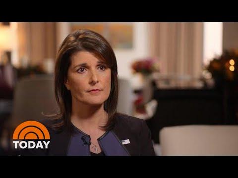 Nikki Haley Speaks Out On Jamal Khashoggi Murder, Working With President Donald Trump   TODAY