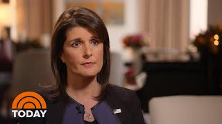 Nikki Haley Speaks Out On Jamal Khashoggi Murder, Working With President Donald Trump | TODAY