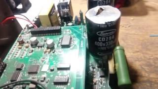 Частотик HT1000B взорвался. Ремонт бедолаги.