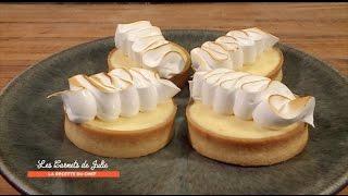 Recette : Tartelettes au citron meringuées de Thierry Marx - Les Carnets de Julie - Tarte au citron