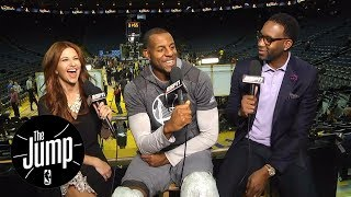 Golden State Warriors' Andre Iguodala Joins The Jump | The Jump | ESPN