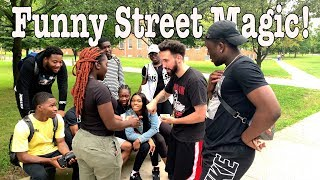FUNNY STREET MAGIC REACTIONS!