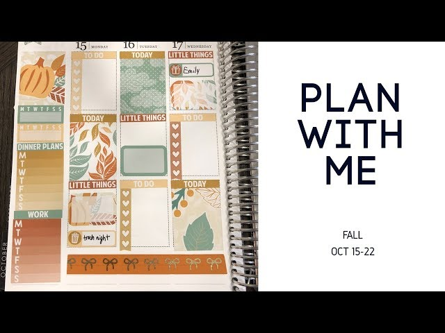 Plan With Me | Fall (myownisland)