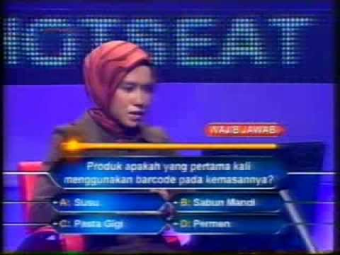Who Wants To Be a Millionaire Indonesia Deviyanty Nilamsari