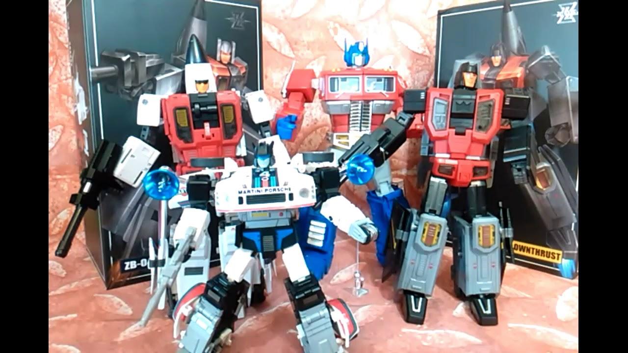 New Zeta toys Transformers ZB-04 Kronos Catapult Slingshot Superion In Stock
