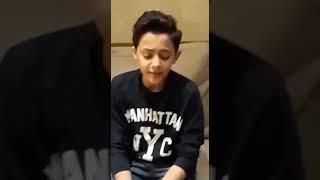 محمد اسامة.. نجم ذا فويس كيدز يبدع في اغنية مرسال لحبيبتي