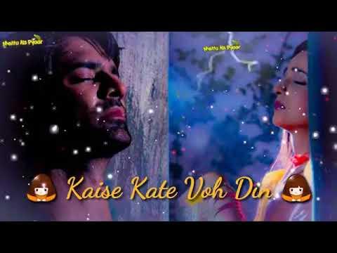 Kaise Kati raatein female voice bichdan status 🙆