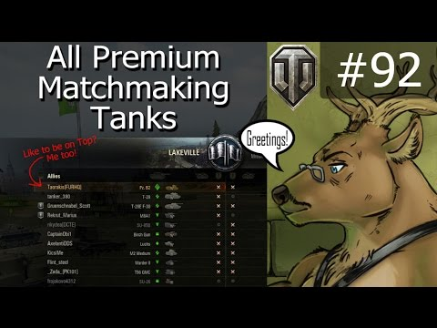 world of tanks preferential matchmaking list
