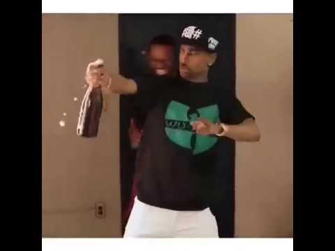 Big Sean hitting the yeet and nae nae