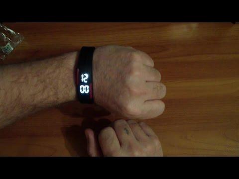 Спортивные часы, силиконовые, светодиодные