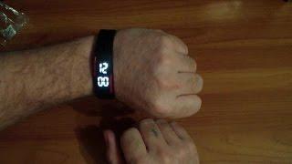 Посылка с Aliexpress. Спортивные часы, силиконовые, светодиодные(, 2016-03-13T13:23:54.000Z)