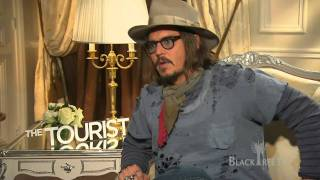 The Tourist - Johnny Depp talks about his
