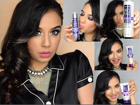 John Frieda Frizz Ease Products And Hair Tutorial