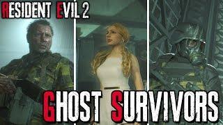RESIDENT EVIL 2 REMAKE: GHOST SURVIVORS   TODOS OS MODOS PRINCIPAIS!