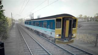 MSTS Great Eastern route. Regional Railways Class 150 Sprinter