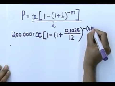Matric revision: Maths: Financial Mathematics (5/6): Present value