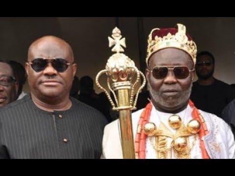 SHOCKING NEWS: VIDEO OF FORMER MILITANT LEADER ATEKE TOM CROWN KING IN NIGER DELTA LAND.
